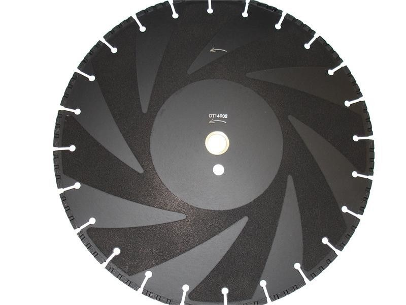 Vacuum Brazed Diamond Saw Blades / Diamond Disc Cutter Blades For Fire Fighting
